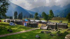 Bergsteigen institutute im sonamarg, Jammu und Kashmir, Indien lizenzfreies stockfoto