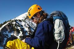 Bergsteigen - Rumänien Lizenzfreie Stockbilder