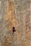 Bergsteiger Stockbild