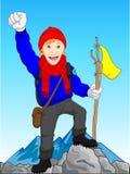 Bergsteiger vektor abbildung