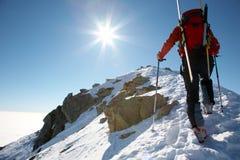 Bergsteiger Stockfotografie