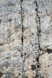 Bergsteiger, die an Alpinistwandweg arbeiten lizenzfreies stockfoto