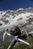 Bergsteigergang Lizenzfreie Stockfotografie