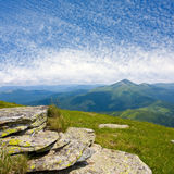 bergstenar Arkivbild
