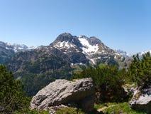 bergstopp Royaltyfri Fotografi