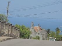 Bergstopp som ser havet Royaltyfria Foton