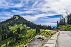 Bergstoppet Arkivbild