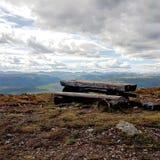 Bergstoppmatställe Arkivfoton