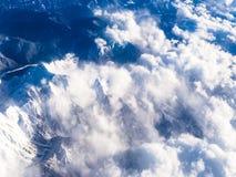 Bergstorm royaltyfri fotografi