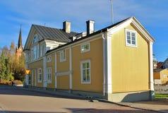 Bergströmska gården in Luleå Immagine Stock