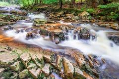 Bergström mycket av rent vatten Fotografering för Bildbyråer