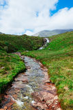 Bergstroom Schotland Royalty-vrije Stock Foto's