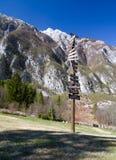 bergtecken Arkivfoto