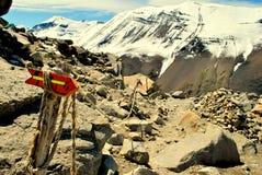 Bergtecken Fotografering för Bildbyråer