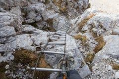 Bergtrappa Arkivfoton