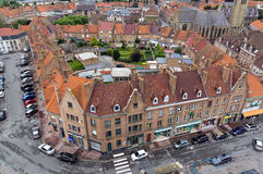 Bergues in france Royalty Free Stock Image