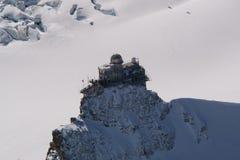 Bergväderstation Arkivbilder