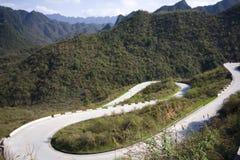 Bergväg Royaltyfri Bild