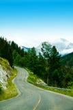 Bergväg Royaltyfri Fotografi