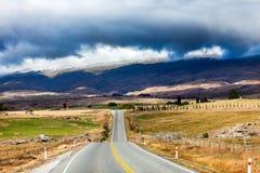 Bergväg Royaltyfria Bilder