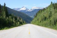 bergväg Fotografering för Bildbyråer