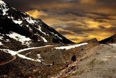 Bergväg Turkiet Fotografering för Bildbyråer