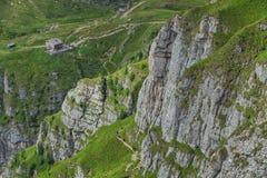 Bergvägar Royaltyfri Fotografi
