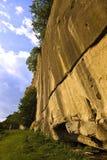 bergvägg Royaltyfria Foton