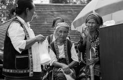 Bergvölker in Thailand lizenzfreies stockbild
