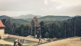 Bergvakantie Roemenië Stock Foto's