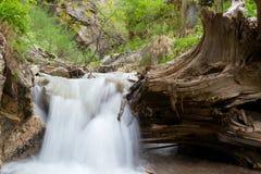bergvattenfall Fotografering för Bildbyråer