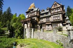 Bergvilla Royalty-vrije Stock Foto