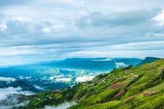 Bergvolk-Dorf Lizenzfreie Stockfotografie