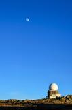 Bergwaarnemingscentrum stock fotografie