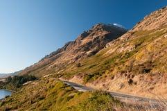 Bergweg Royalty-vrije Stock Afbeeldingen