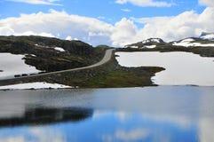 Bergweg Royalty-vrije Stock Foto