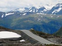 Bergweg Stock Afbeelding