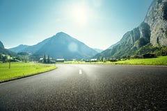 Bergweg, Jungfrau-gebied, Bernese Oberland, Zwitserland Royalty-vrije Stock Afbeeldingen