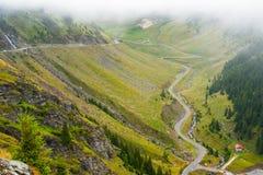 Bergweg Transfegerash Royalty-vrije Stock Fotografie