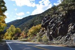 Bergwegen royalty-vrije stock fotografie
