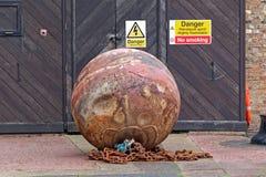 Bergwerk-Bombe lizenzfreie stockfotos