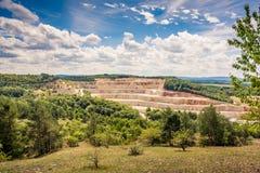 Bergwerk in der Natur Lizenzfreie Stockfotos