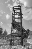 Bergwerk-Derrickkran 1 Stockbilder