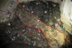 Bergwerk-Erz lizenzfreie stockfotografie
