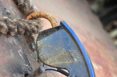Bergwerk-Reflexion stockfotografie