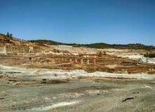 Bergwerk - Riotinto-Bergwerk Lizenzfreie Stockfotos