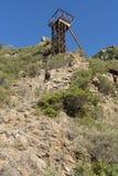 Bergwerk Sans Luigi sardinien Lizenzfreies Stockfoto