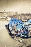 Bergwerkmaschine Stockfotografie
