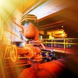Bergwerksausrüstung Stockbild