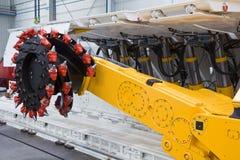 Bergwerksmaschine Lizenzfreie Stockbilder